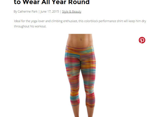Vegas Magazine – Sweat-Proof Workout Gear You'll Want to Wear All Year Round