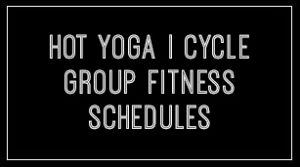 Zweet Sport Hot Yoga & Total Fitness - Schedule button